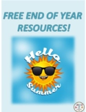 FREE END OF YEAR RESOURCES!