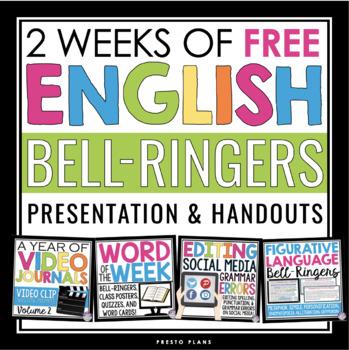 FREE ENGLISH BELL RINGERS (2 FREE WEEKS)