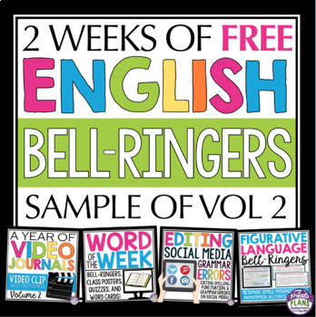 FREE ENGLISH BELL RINGERS VOL 2 (2 FREE WEEKS)