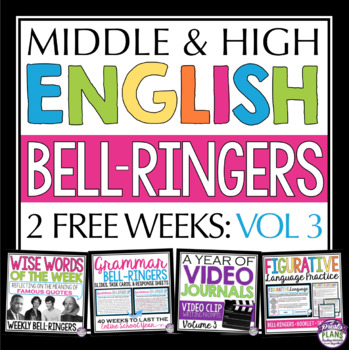 FREE ENGLISH BELL RINGERS - VOLUME 3 (2 WEEKS)