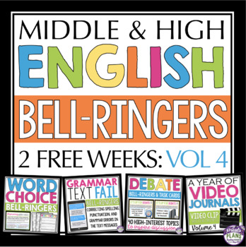 FREE ENGLISH BELL RINGERS - VOLUME 4 (2 WEEKS)