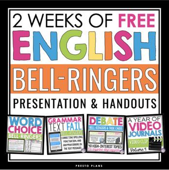 FREE ENGLISH BELL RINGERS - VOLUME 4 (2 WEEKS)
