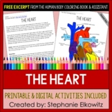 Human Heart Coloring and Reading