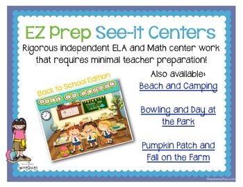 FREE EZ Prep See-it Centers
