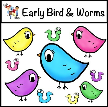 FREE! Early Birds and Worms