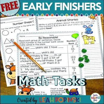 Free Fast Finishers and Gifted Primary