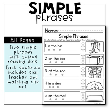 FREE Early Reading Comprehension Skills Pages -  [I Can Read]
