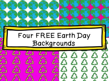 FREE Earth Day Backgrounds
