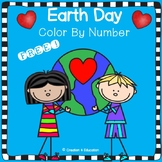 FREE Earth Day Color By Number