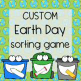 FREE Earth Day Sorting Game