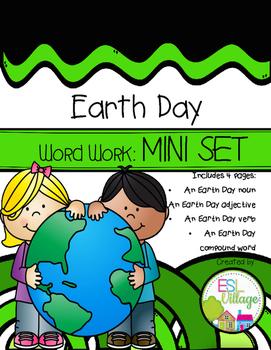 FREE Earth Day Word Work {Mini Set}