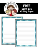 FREE Earth Day Writing Paper