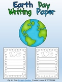 FREE Earth Day Writing Paper for Kindergarten or First Grade
