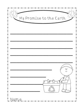 FREE Earth Day Writing Printables for the Primary Classroom