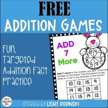 FREE Addition Game