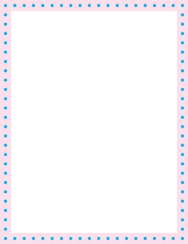 Free Easter Color Frames Letter Size 85 X 11 6 Png Files