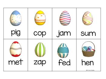 Easter CVC Activities