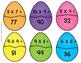 FREE Easter Egg Multiplication and Division sort