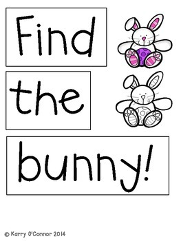 FREE!  Easter Egg Pocket Chart Game {1-20}