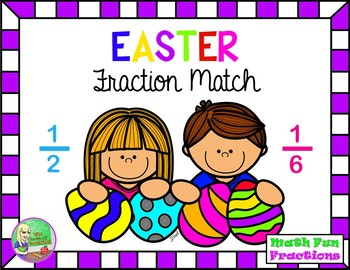 Easter Fraction Match