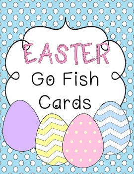 FREE Easter Go Fish Cards