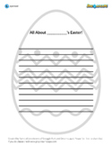 FREE Easter Journal Writing Worksheet - Dreamscape