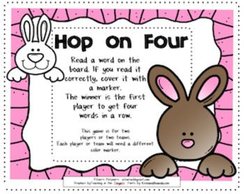 FREE Easter Literacy Station -- Silent e Words