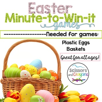 FREE Easter Minute to Win it Games