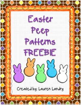FREE Easter Peep Patterns