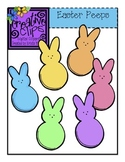 FREE Easter Peeps {Creative Clips Digital Clipart}