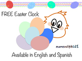 FREE Easter/Spring Clock (Chick)
