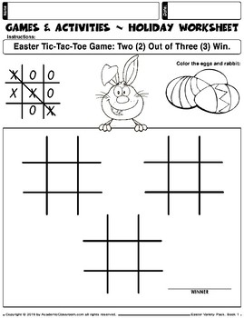 FREE Easter Variety Pack, Alphabets,Math,Games, Easter Greeting Card