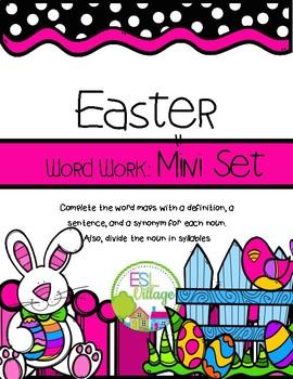 FREE Easter Word Work {Mini Set}