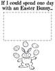 FREE Easter Writing & Coloring Fun: Digital and Printable Versions