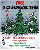 FREE Easy Chimes & Bells  Arrangement  O CHRISTMAS TREE