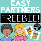 Make Partners ~ Group Students Quickly and Easily ~Put Kids in Partners ~ FREE