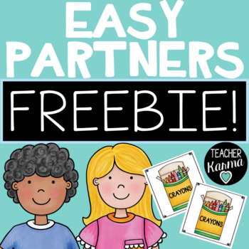 Make Partners ~ Group Students Quickly and Easily ~Put Kid