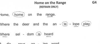 FREE Easy Recorder, Tone Chimes & Bells arrangement HOME ON THE RANGE (Refrain)