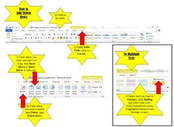 {FREE} Editable Math DIBELS Assessment Progress by Grade Level