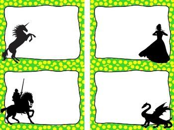 FREE - Editable Fantasy Creatures Nametags