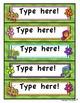Editable Labels FREE!