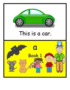 FREE Editable Letter a Early Reader booklet