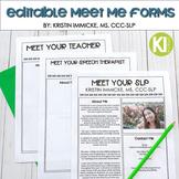 FREE Editable Meet Me Form