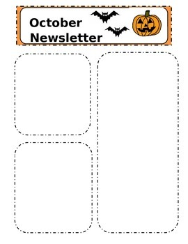 FREE Editable Monthly Newsletter Templates
