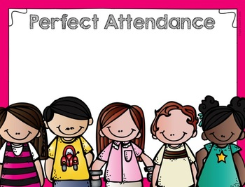 Free Editable Perfect Attendance And Honor Roll Signs Or Certificates