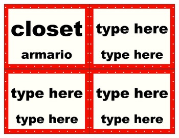 FREE Editable Polka Dotted Classroom Labels (For Personal Use)