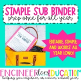 FREE Editable Sub Binder Pages: Simplify with one time setup!