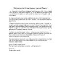 FREE! Editable Teacher Introduction Letter