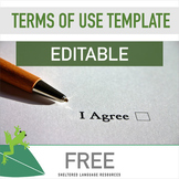 FREE Editable Terms Of Use Template & Example