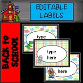 FREE Editable Toy Labels